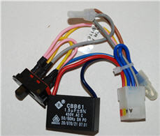 Hunter Ceiling Fan Replacement Capacitor and Wiring Harness